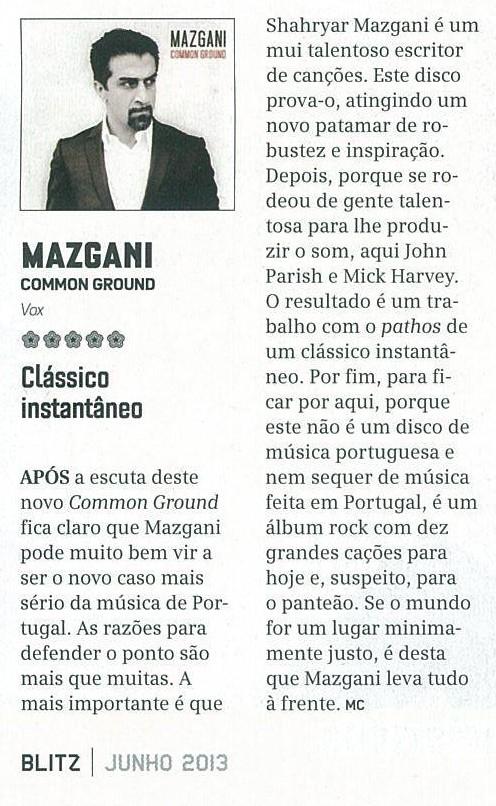 Revista Blitz Junho 2013